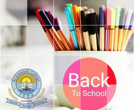 Term 2 – Welcome back to school!