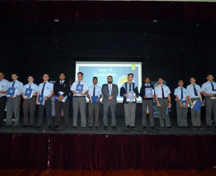 Year 10 Graduation Ceremony