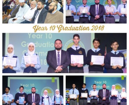 Y10 Graduation Ceremony 2018