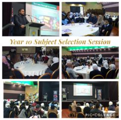 Year 10 Subject Selection Session