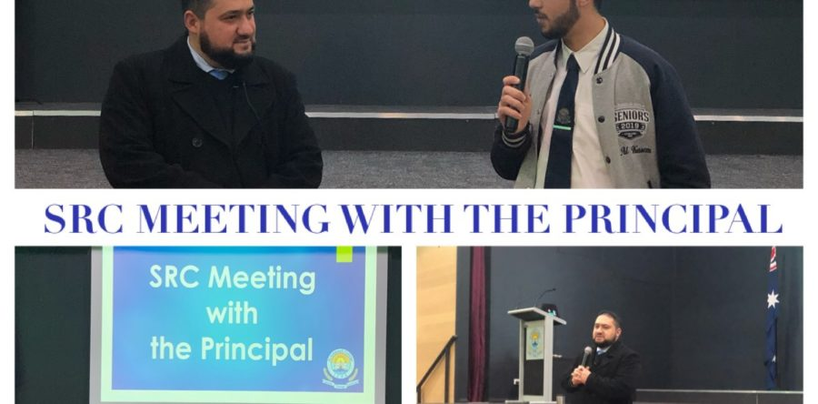 SRC meeting with the Principal