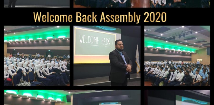 Welcome back Assembly 2020