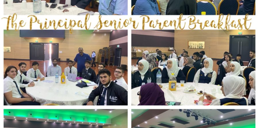 The Principal Senior Student Parent Breakfast