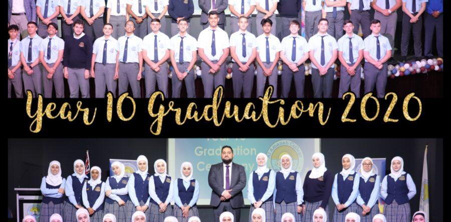 Year 10 Graduation Ceremony 2020