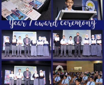 Year 7 – 9 Awards Ceremony