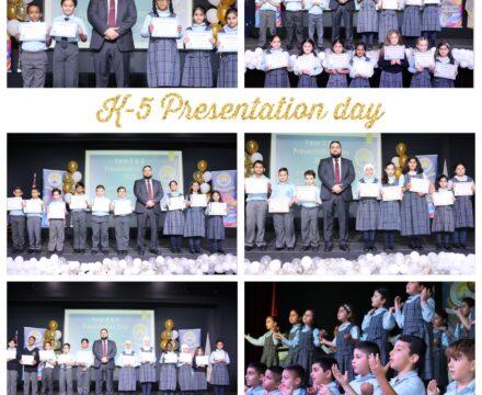 K – 5 Presentation Day 2020