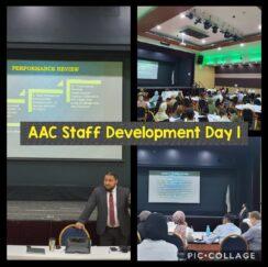 AAC Staff Development Day One