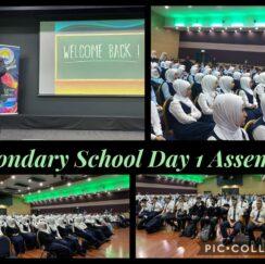 Secondary School Day 1 Assembly