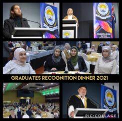Graduates Recognition Dinner 2021