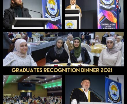 Graduates Recognition Dinner 2021